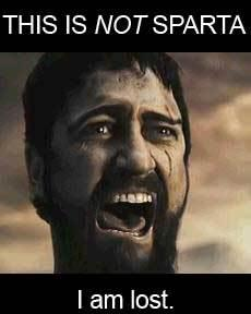 Anywhere but sparta