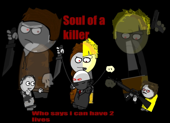 Soul of a killer poster