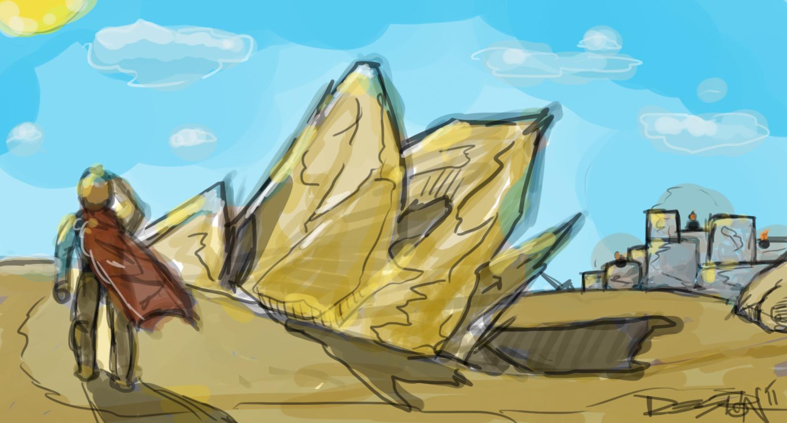 Jutting Rocks