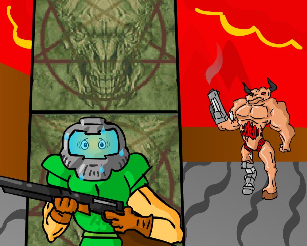 Cyberdemon Attacks !