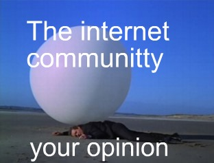 the internet community