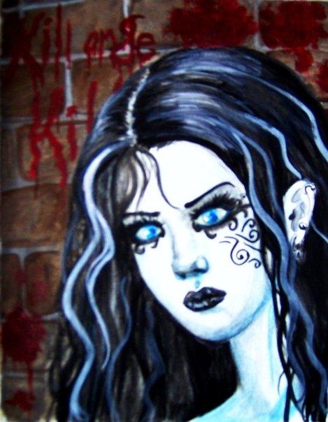 Blind goth
