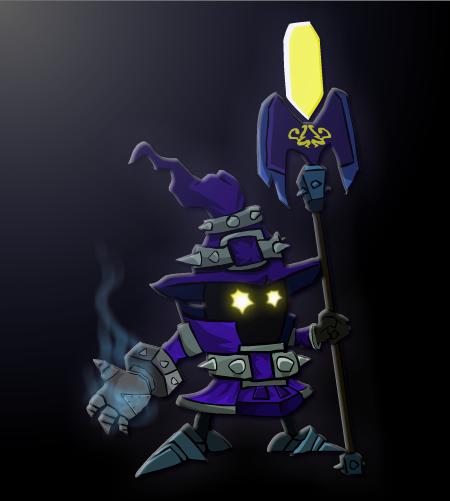 Viegar, Tiny Master of Evil