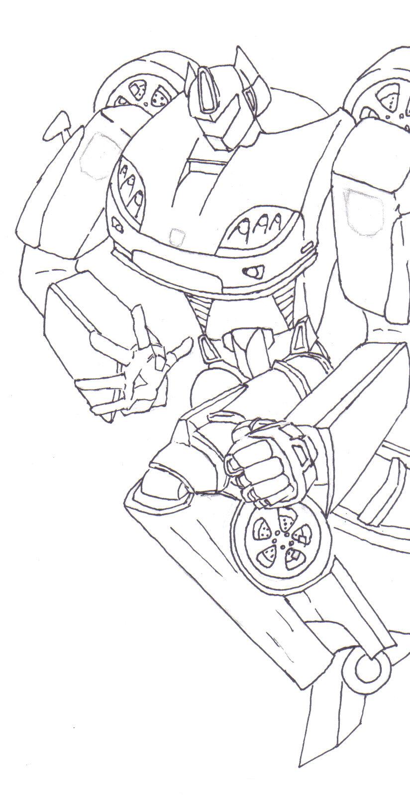 Custom Transformer, Robot Mode
