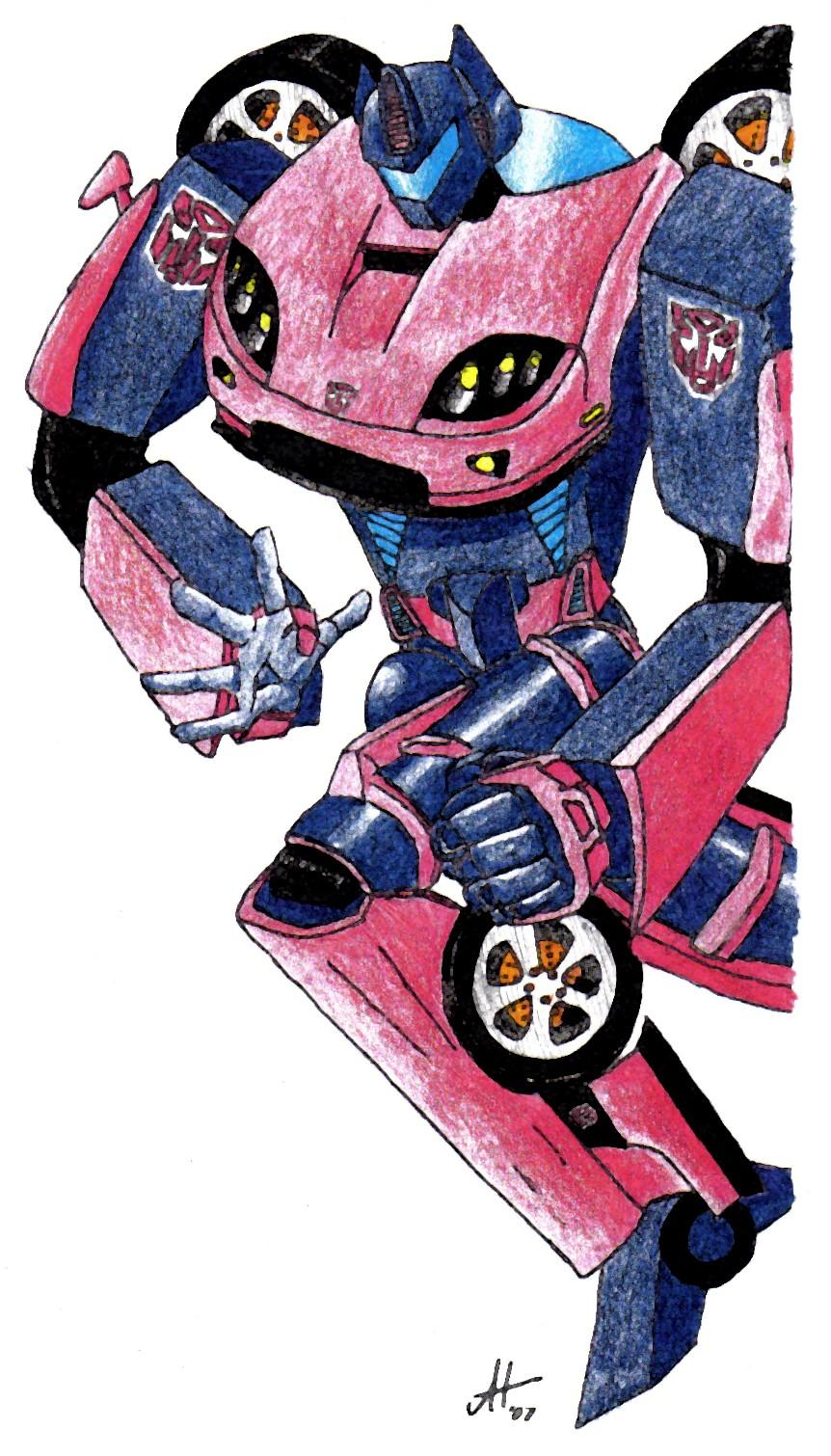 Custom Transformer,Robot Color