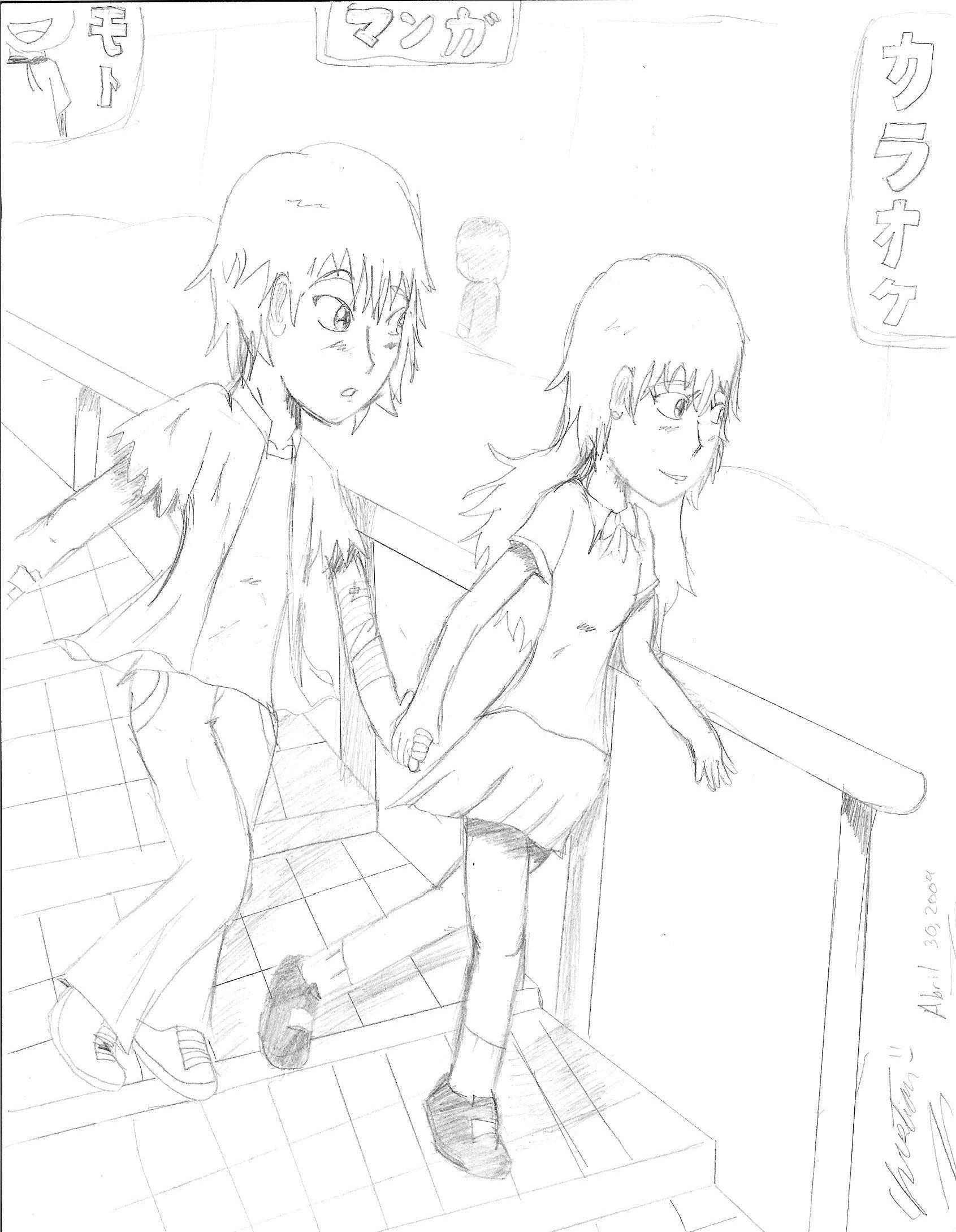 Ryuuichi x Mitsuki