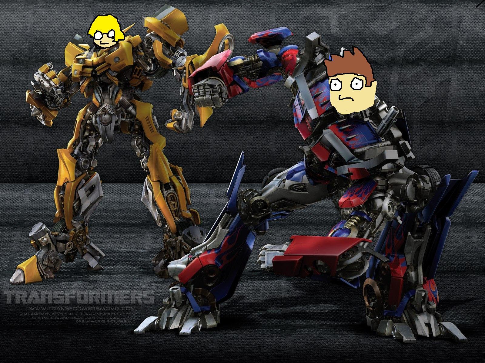 The dudes Transformers L&R