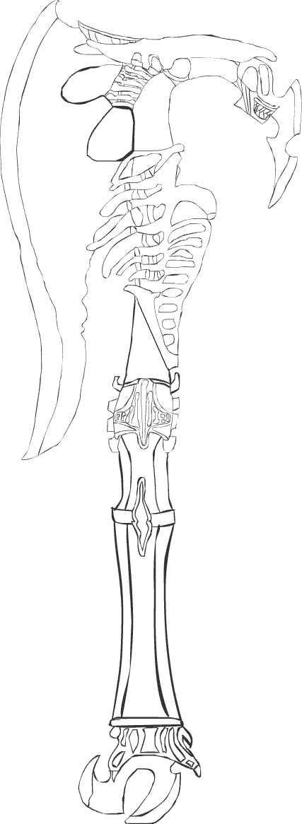 My Axe -- Uncolored