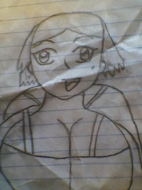 eechi girl sketch