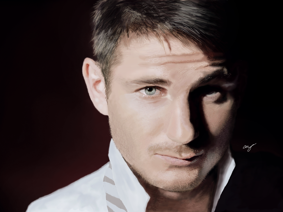 Frank Lampard Digital Portrait