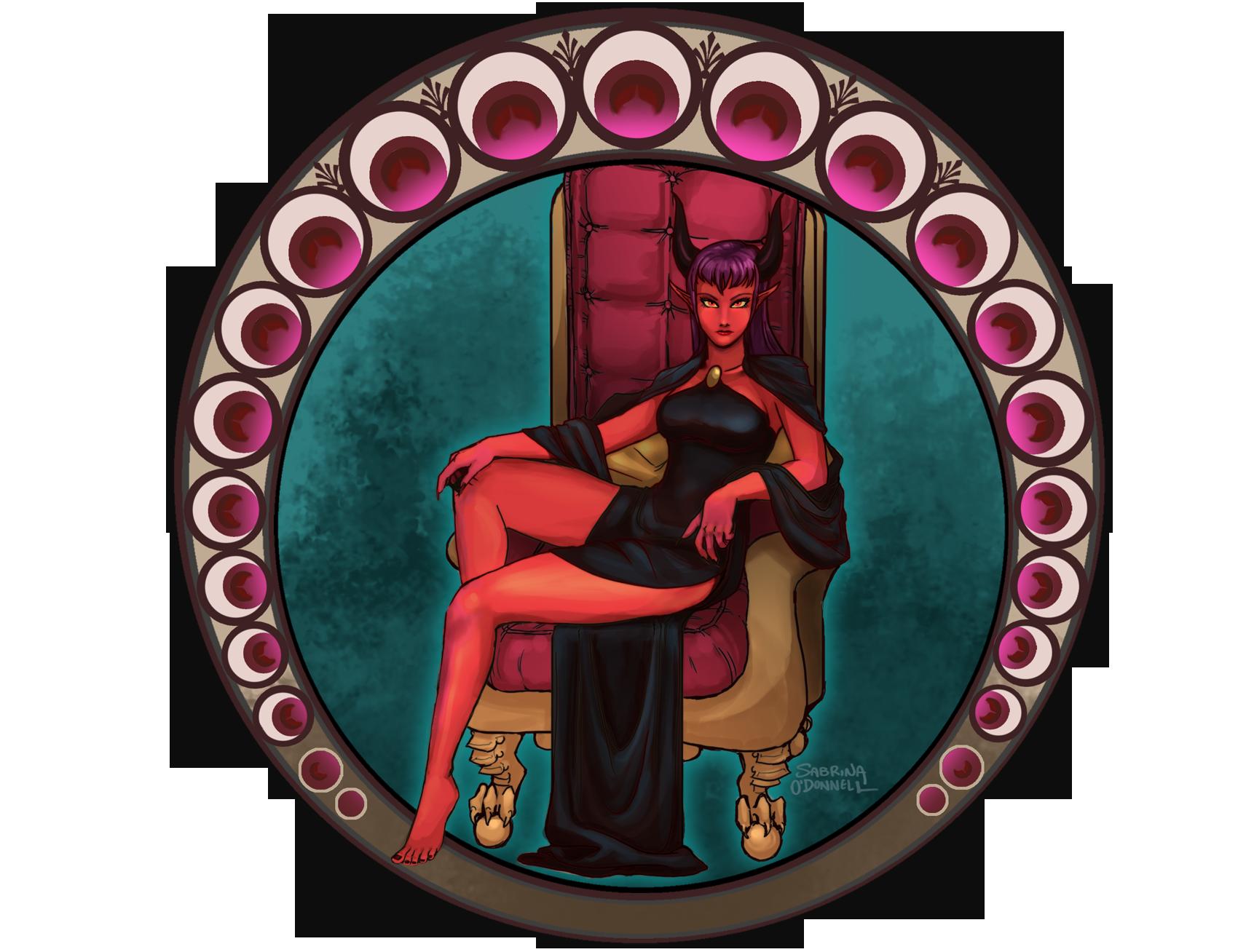 Devil Lilith Commission