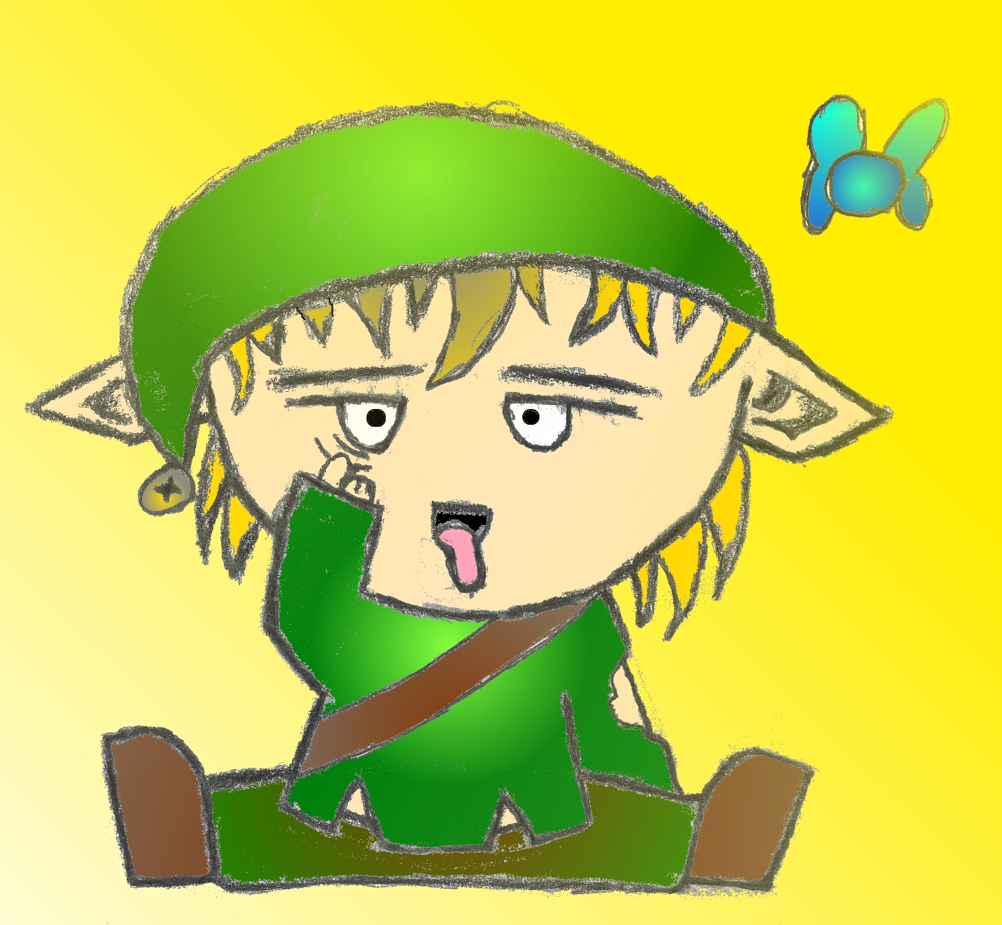 The REAL young Link