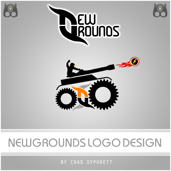 NewGrounds Logo by Living Meme