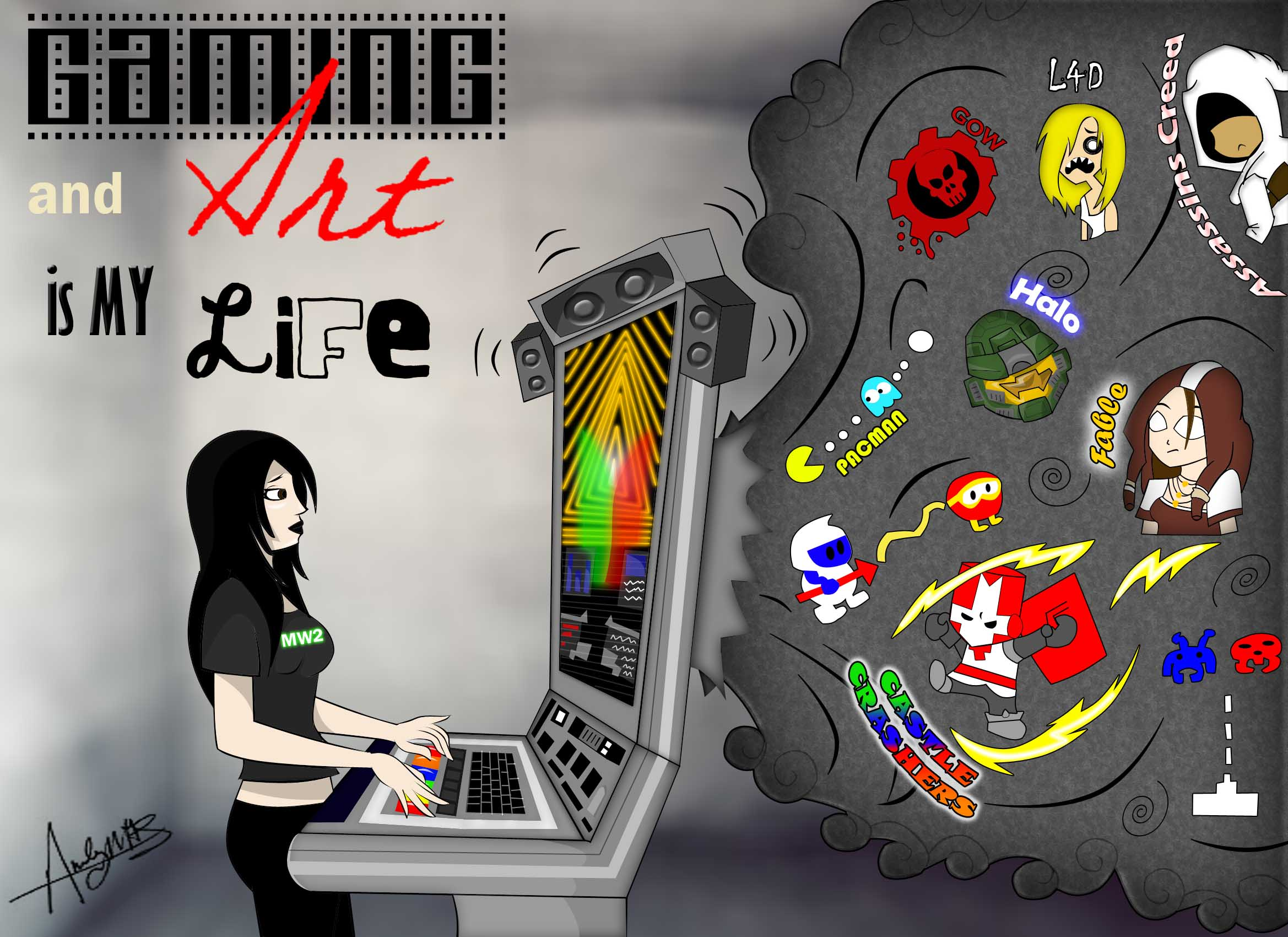 Gaming and Art is my Life