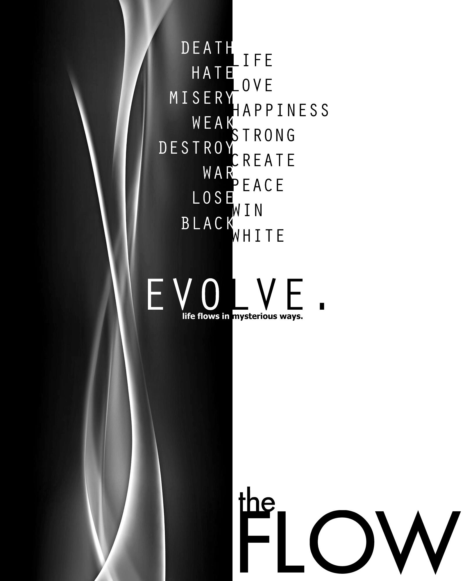 Evolve.