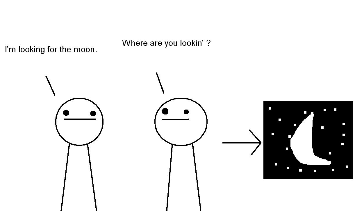 asdfmovie 4 - 1 - Moon (Comic)