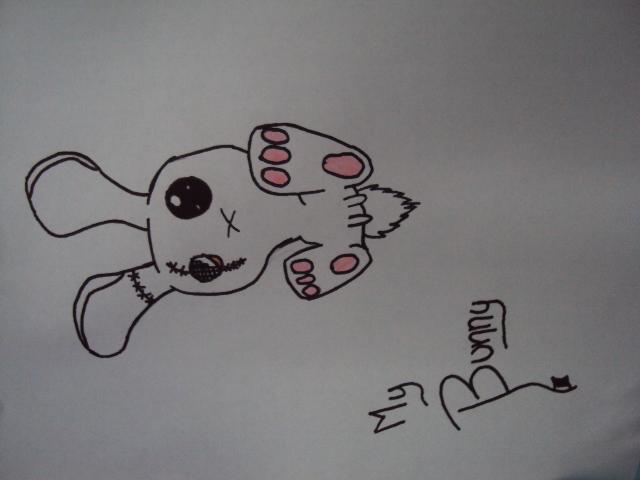 Goth bunny