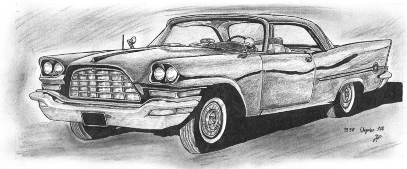 1958 Chrysler 300