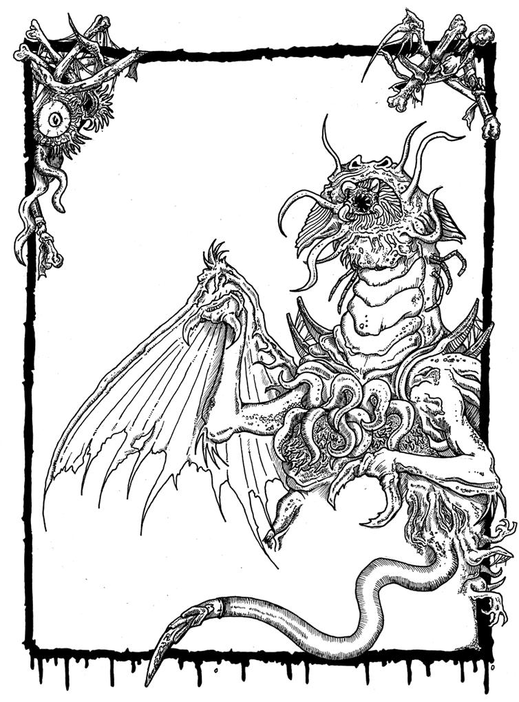 Lovecraftian flyer