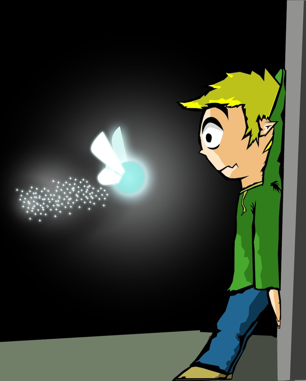 Link Meets A Fairy