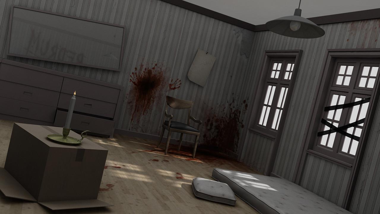 Murder 3D scene