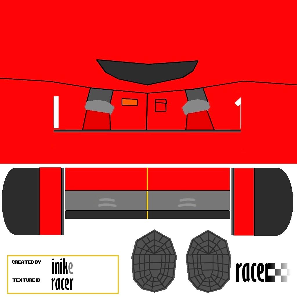 Racer - mesh map