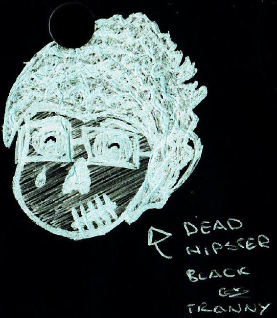 Dead Hipster negative