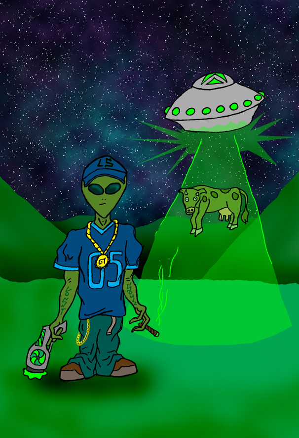 Alien Gangster