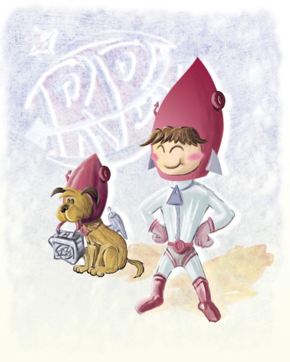 Rocket Boy and Pet