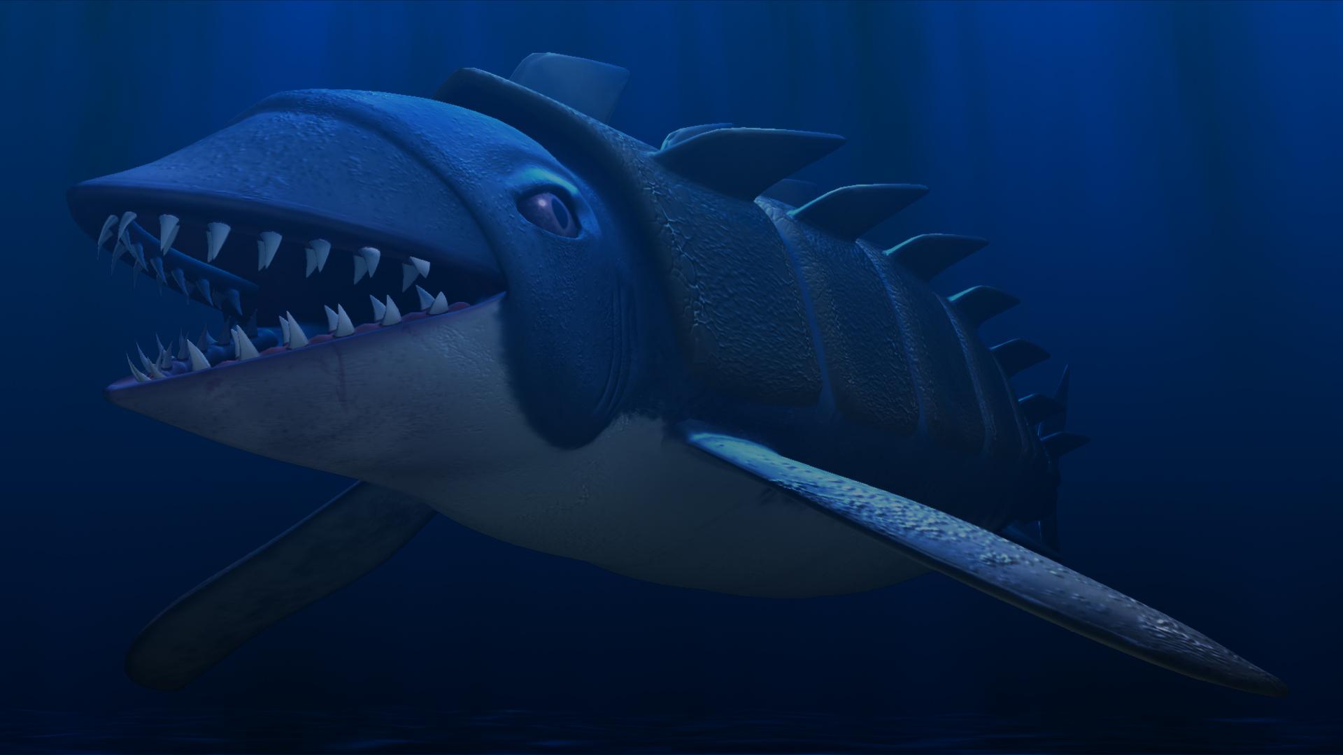 Armored Shark