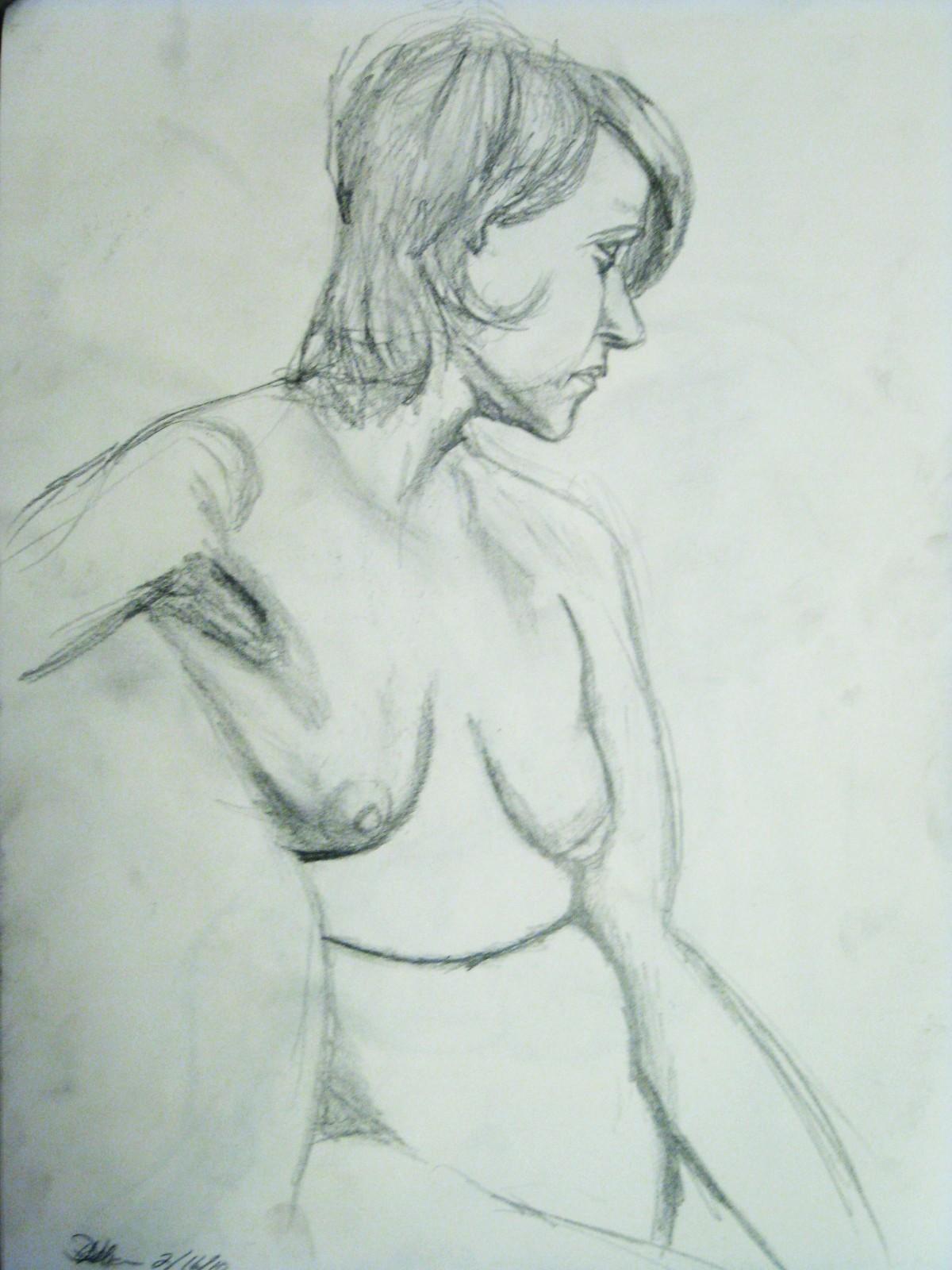 Co-op Nude Model Study
