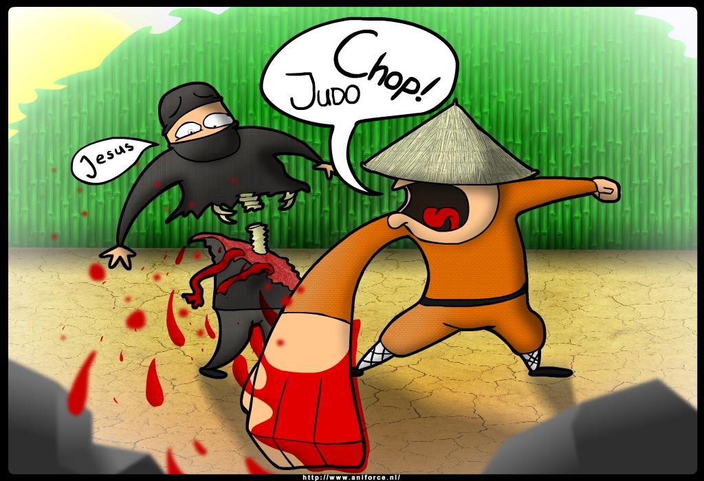 Judo Chop!