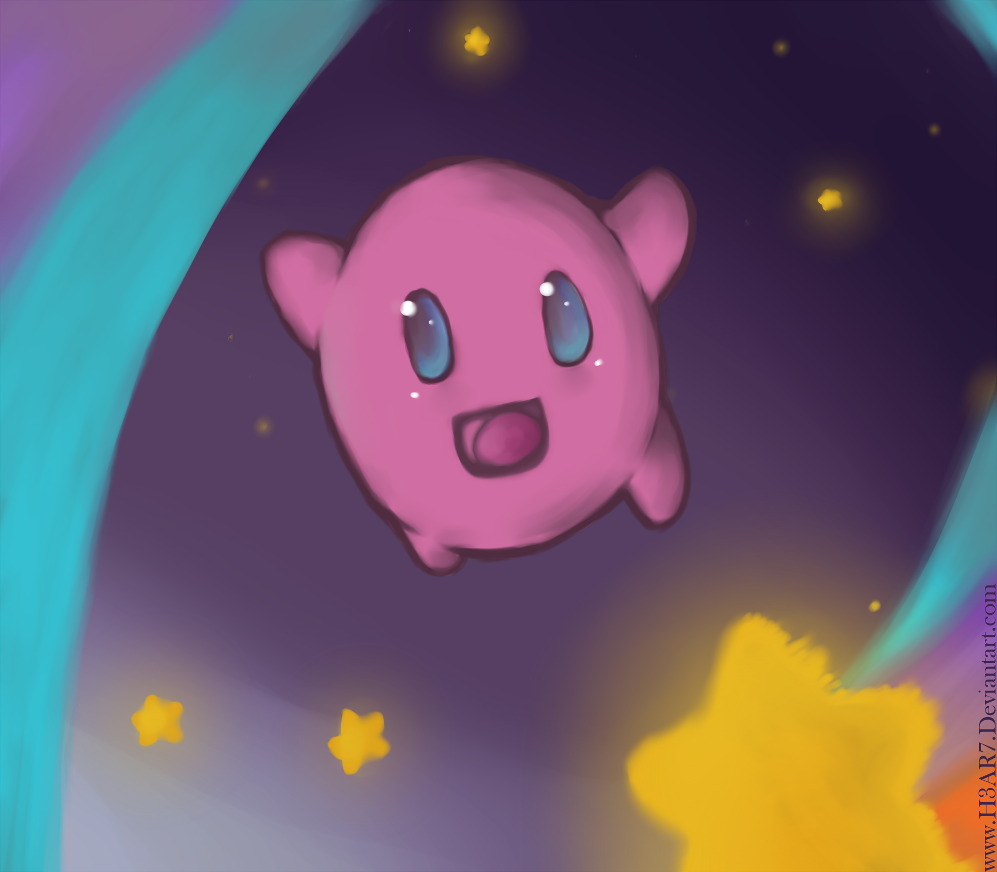 Kirby Superstar FanArt