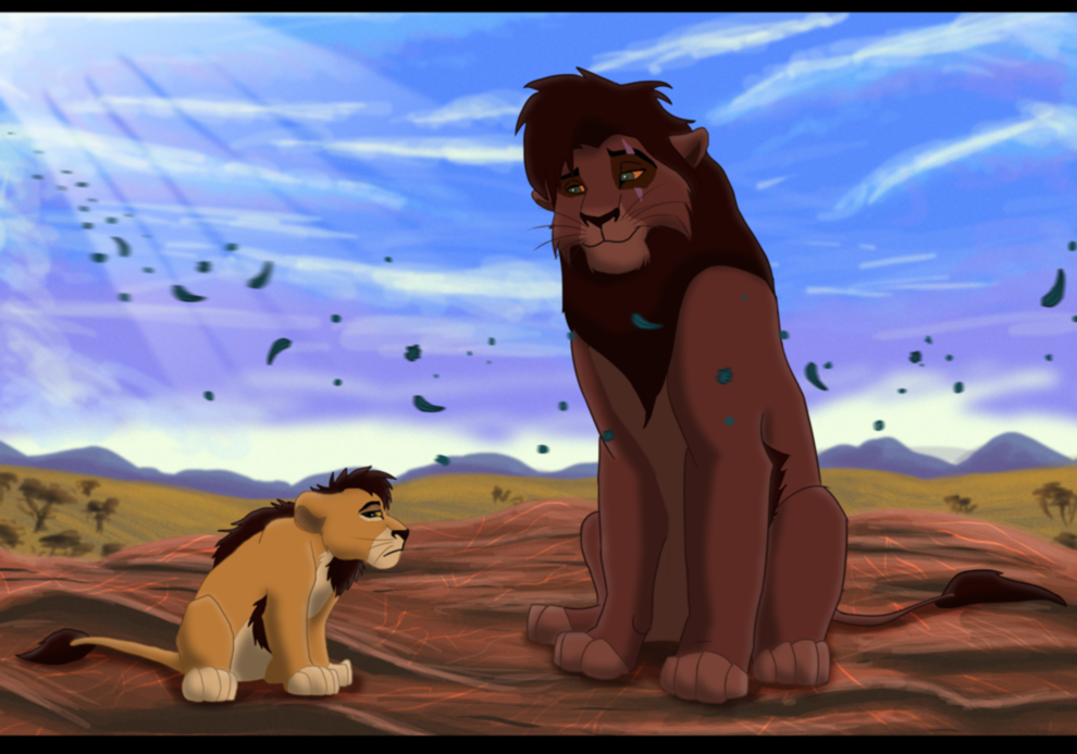 Kovu and his son