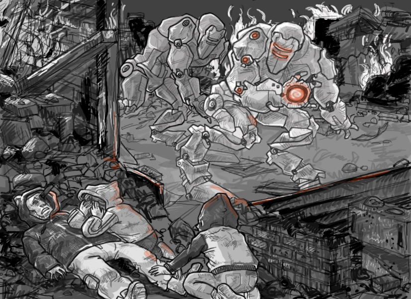 Alien Robot Apocalypse