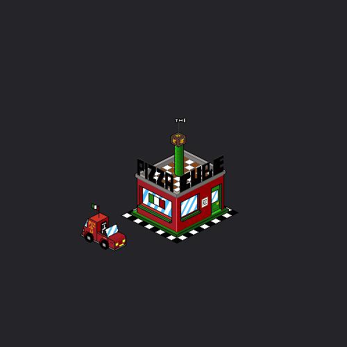 Pixel-y Pizza