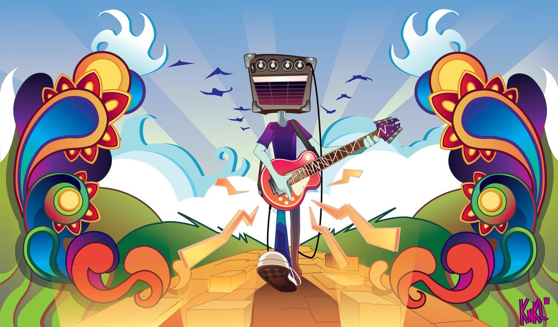Amp head Illustrator