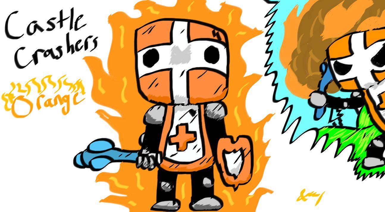 Castle Crashers - Orange