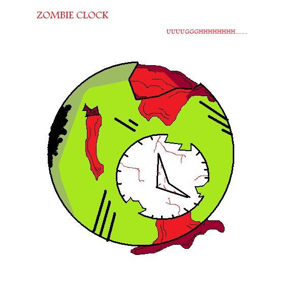 Zombie Clock