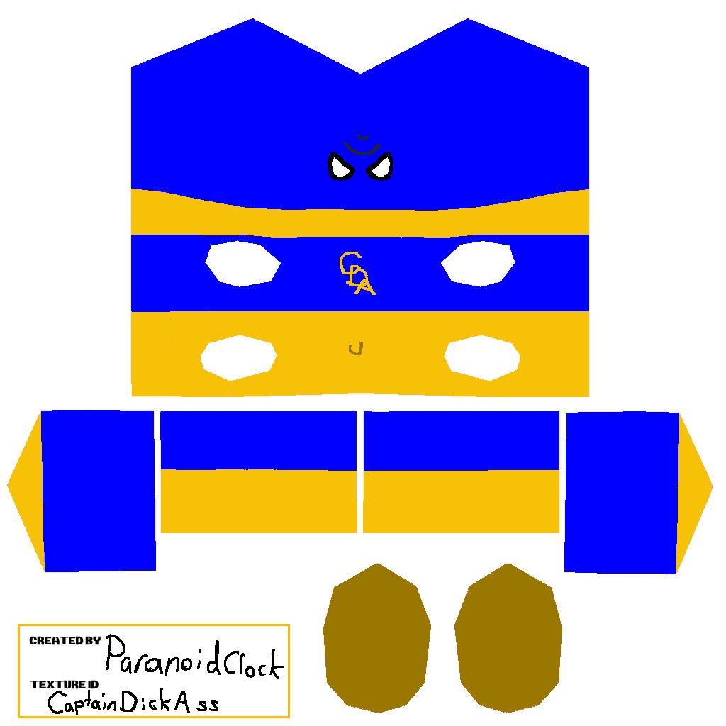 Captain Dick Ass Figure Map