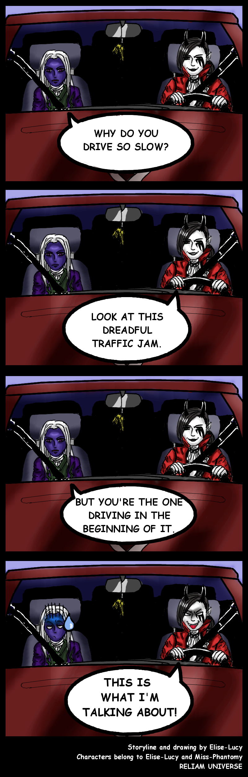 Driving 'em mad