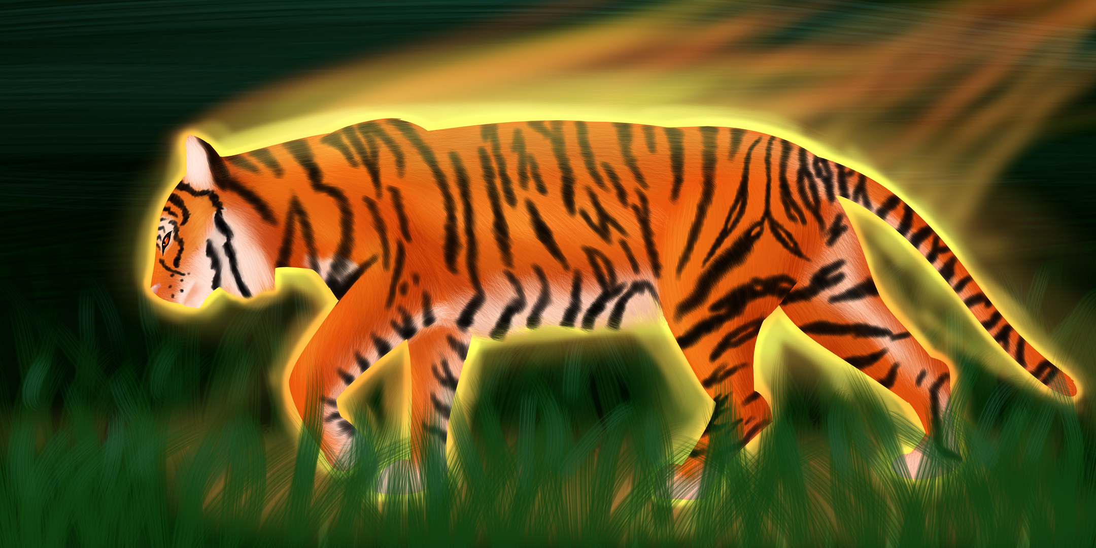 Tyger! Tyger! Burning Bright