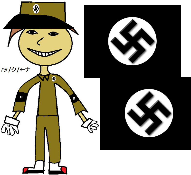 my characeter in nazi nutzi