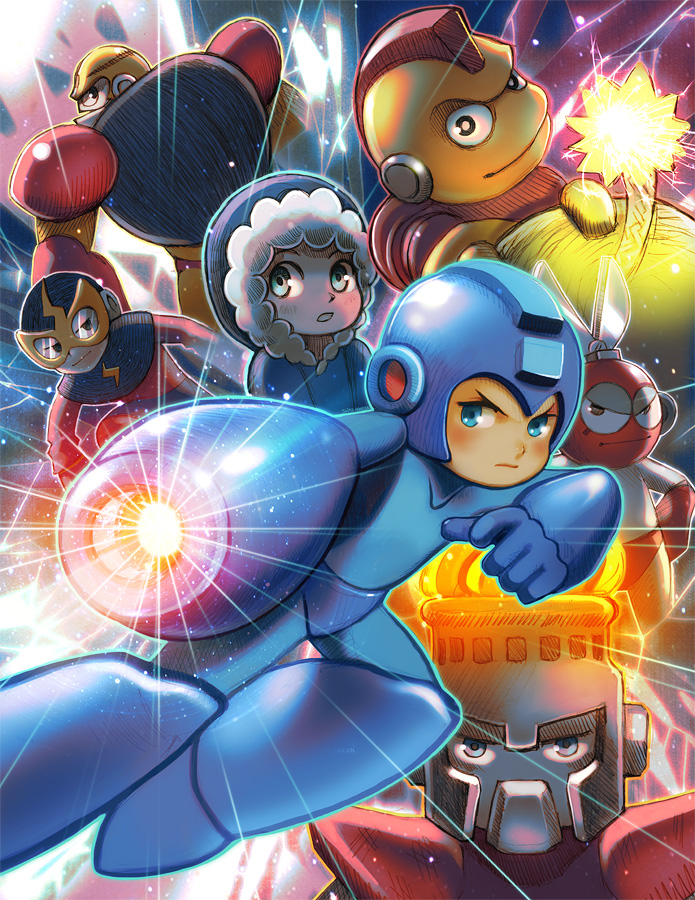 Mega Man Tribute