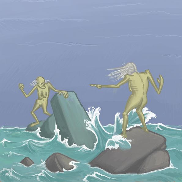 Vying Tidal Hags