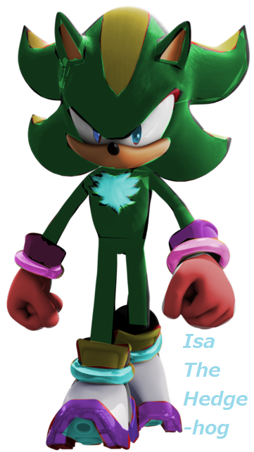 Isaiah The Hedgehog (CusFchar)