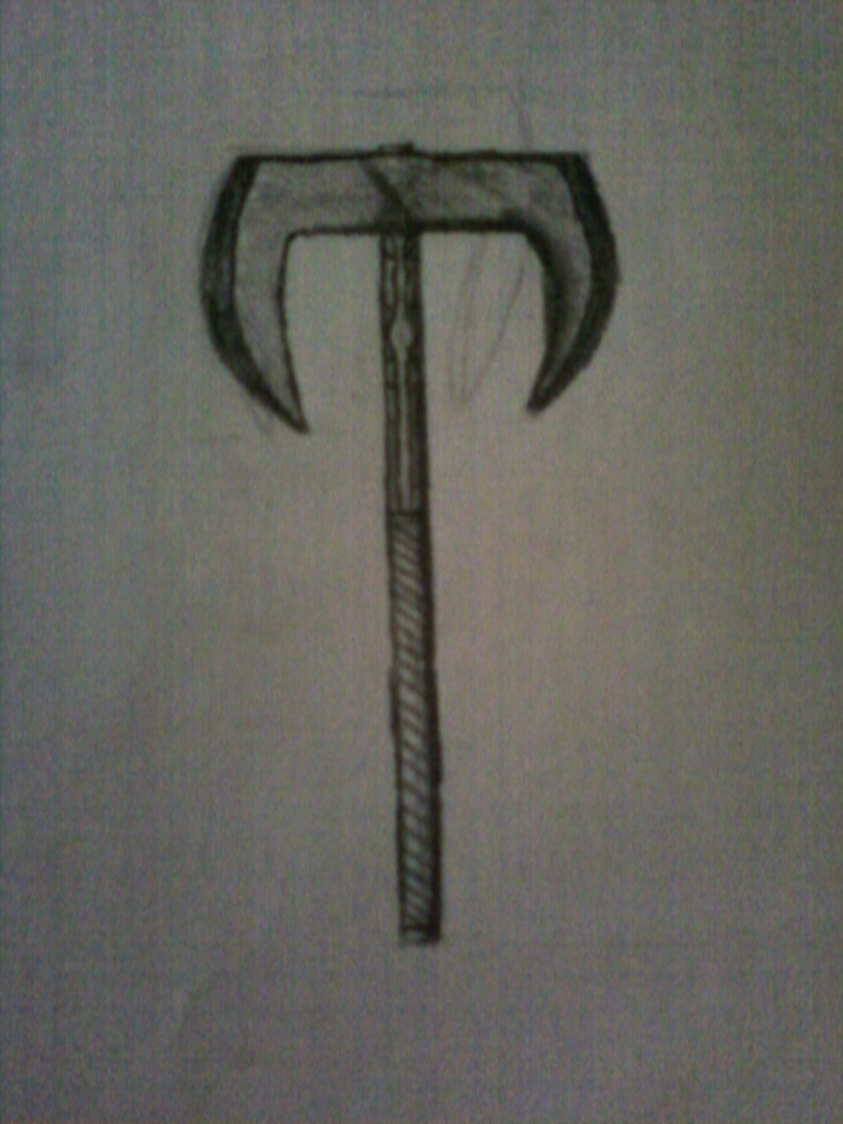 Two Handed War Axe