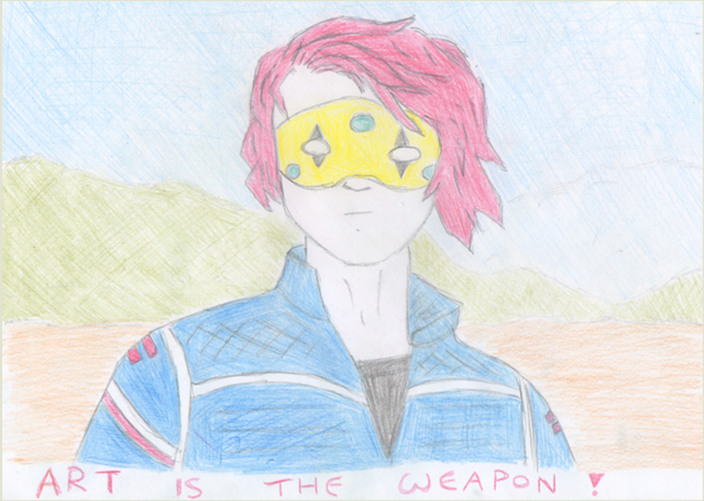 Gerard Way (art is the weapon)