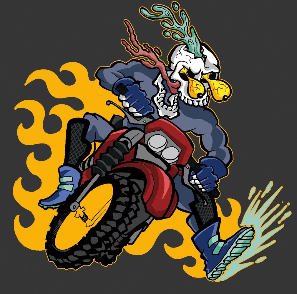 Skull Biker 2