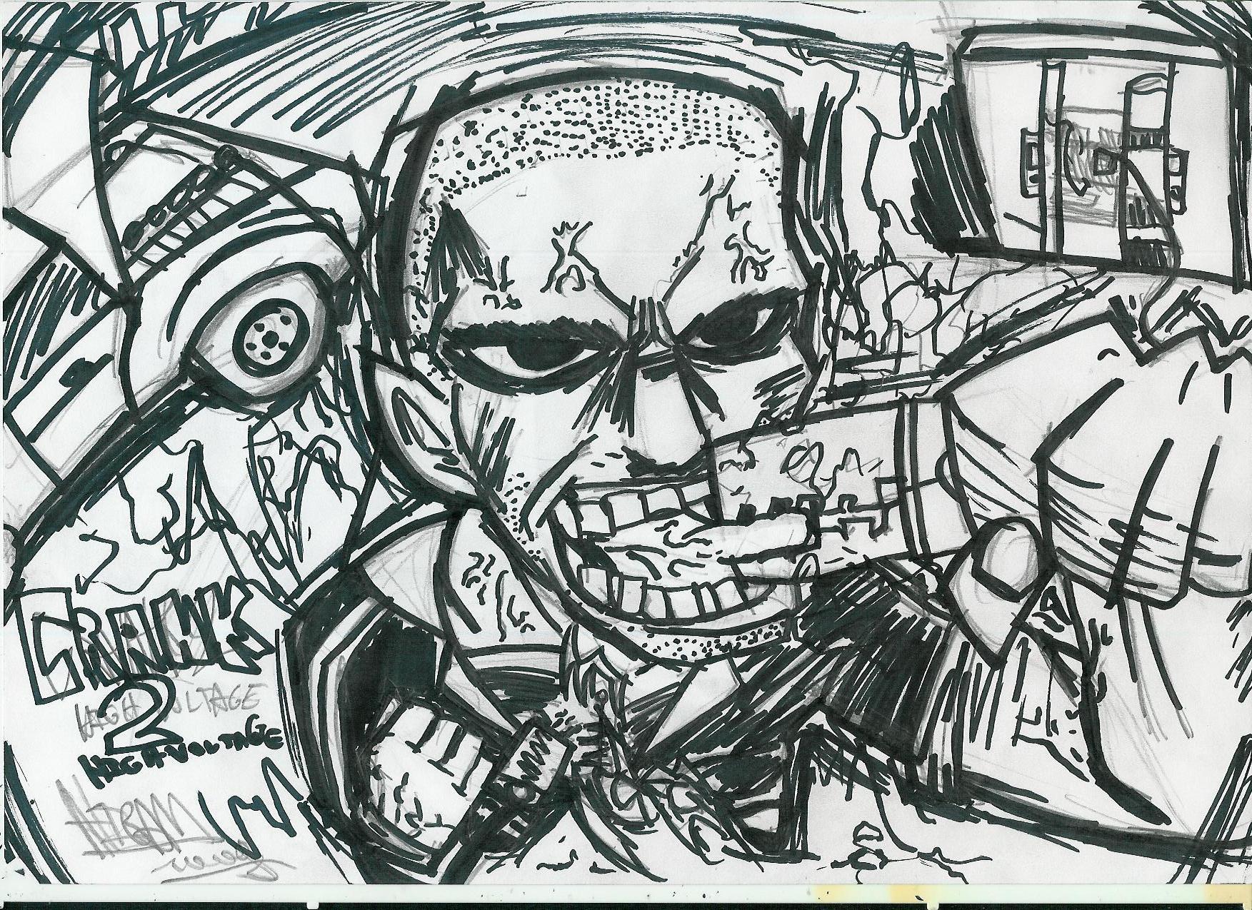 crank 2 drawing